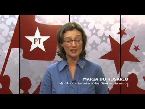 MA Imperatriz - Ministra Maria do Rosário apoia para prefeito Adalberto