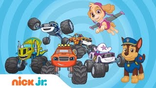 Mix It Up w/ PAW Patrol & Blaze and the Monster Machines | Nick Jr.