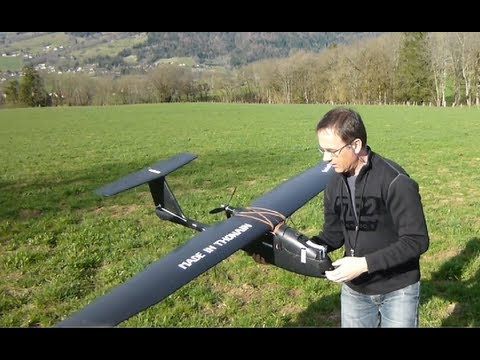 DRONE - UAV -FPV CONDOR vues au sol + test RTH et STAB  UAV DRONE VOL IMMERSION DEMO