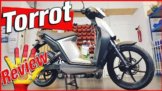 E-ROLLER, TORROT MUVI, 16 Zoll, 2 Akkus, 45-60 km/h, App, Scooter, Esooter, Review, Unboxing (DEU)