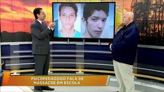 Massacre em Suzano: psicólogo comenta sobre o ataque na escola