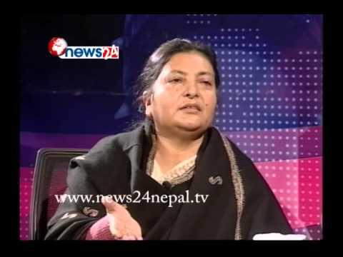 राजनीति कसरी अगाडि बढ्ला ? : एमाले उपाध्यक्ष विद्या भण्डारी - REAL FACE
