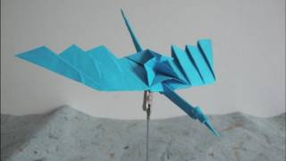 Origami How To Make A Bird
