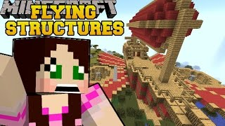 Minecraft: REAL FLYING STRUCTURES (AIRSHIPS, PLANES & HELICOPTERS!) Mod Showcase