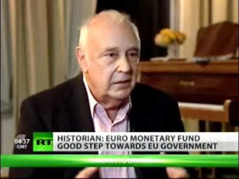 """European monetary fund a good step towards EU govt"" -- economic historian"