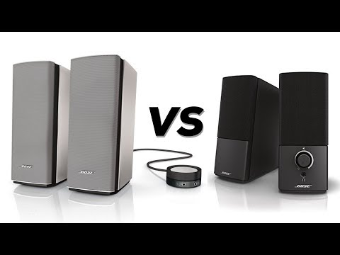 Bose Companion 20 vs Companion 2 Series 3 - Review & Comparison