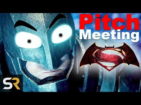 Batman V Superman: Dawn of Justice Pitch Meeting