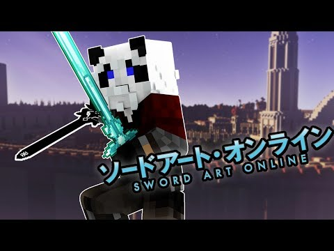Minecraft: Sword Art Online #1 - 'CURSED TOWN' (Minecraft Roleplay RPG Server)