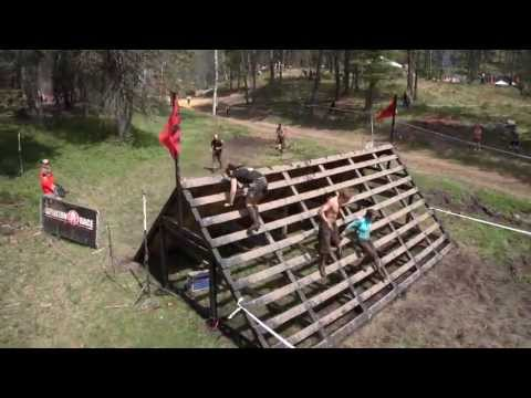 2013 Montana Spartan Race aerial views from Quadrocopter