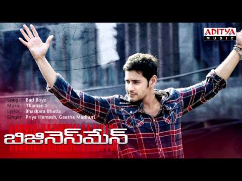 Businessman Telugu Movie | Bad Boyz Full Song video