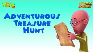 Adventurous Treasure Hunt- Motu Patlu Compilation- Part 10- As seen on Nickelodeon