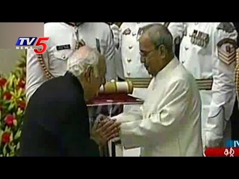 Pranab Mukherjee Presents Padma Awards To Recipients | Rashtrapati Bhavan | TV5 News