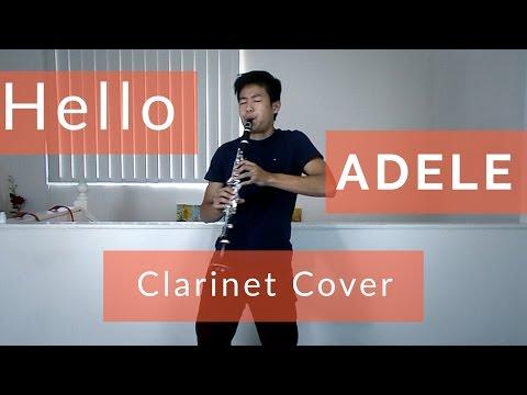 Adele  Hello: Clarinet  Sheet Music in Description