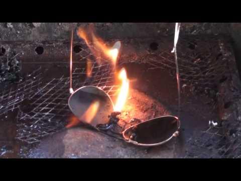 Burning $300 Dollar Ray-Ban Glasses