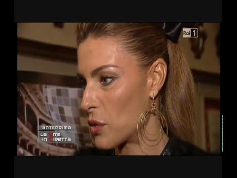 Martina Colombari ad I love Disco per Vita in diretta