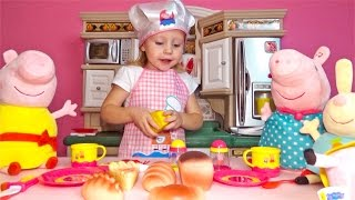 Peppa pig all series in a row from Nastya to Look about peppa pig in Russian without a break 2016