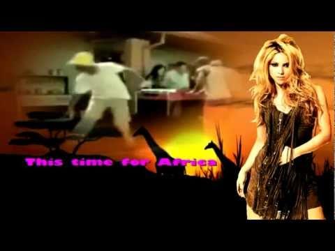 Shakira- Waka Waka (karaoke instrumental)