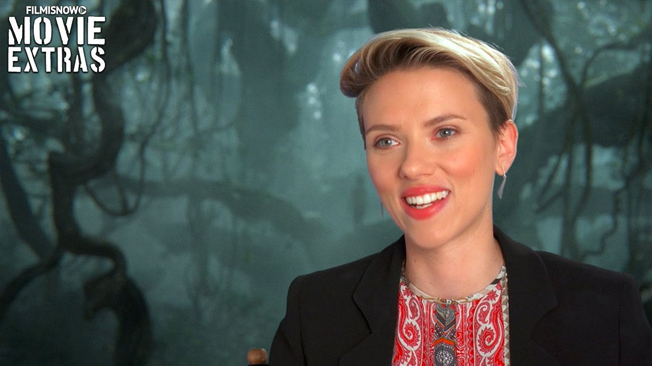 The Jungle Book | On-Set with Scarlett Johansson 'Kaa' [Interview]