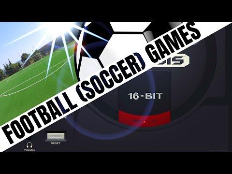 SEGA Mega Drive / Genesis: All FOOTBALL / SOCCER Games