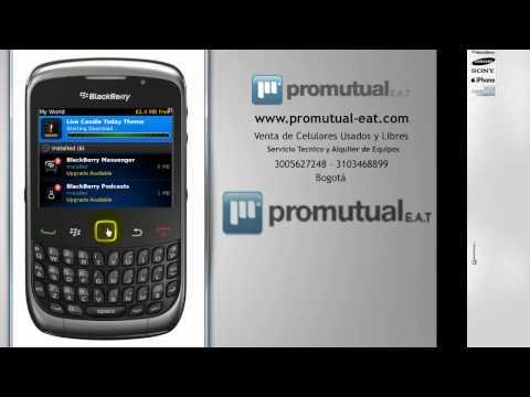 Como instalar temas en Blackberry 8520 9300 9700 y otras