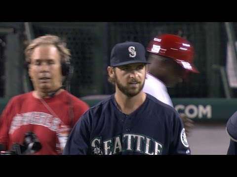 SEA@LAA: Mariners combine for six scoreless innings