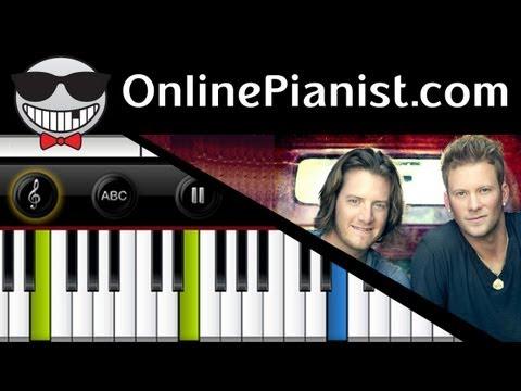 Florida Georgia Line - Cruise - Easy Piano Tutorial & Sheets
