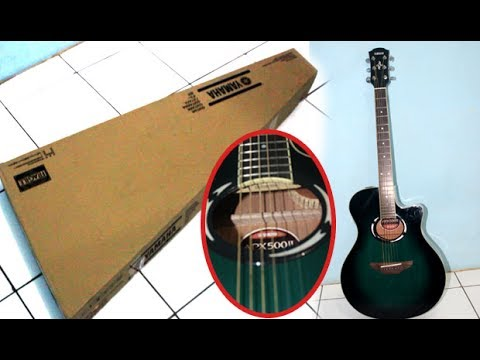 download lagu UNBOXING AND REVIEW YAMAHA GUITAR APX 500ii gratis
