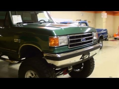 1989 Ford F250 4x4 Lifted Custom Pickup -  Very Low Original Miles