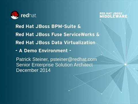 Red Hat JBoss BPM & FSW & DV Integration Demo