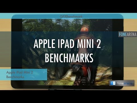 Apple iPad Mini 2 with Retina Display Benchmarks