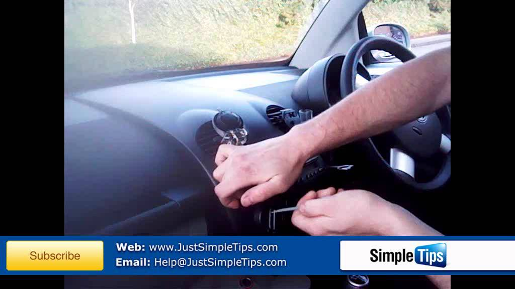 Radio Removal Volkswagen Beetle (1997-2010) | JustAudioTips - YouTube