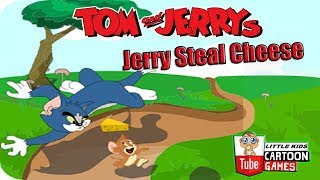 Tom And Jerry - Jerry Steal Cheese. Fun Tom and Jerry 2017 Games. Baby Games #LITTLEKIDS