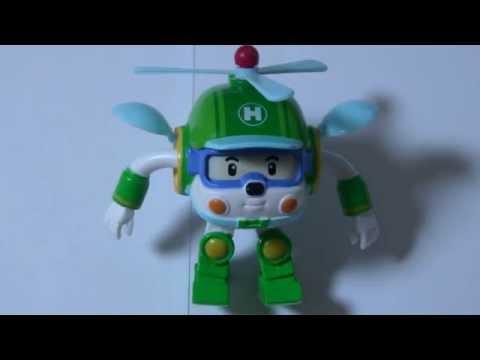 로보카폴리 - 헬리 장난감 폴리 Робокар Поли Игрушки Мультфильмы про машинки Robocar Poli Toys