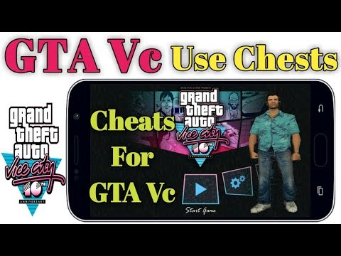 How To Use Cheats Code GTA Vice City Game On Android Hindi