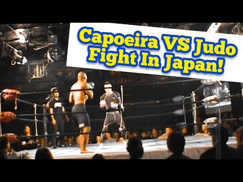 Capoeira MMA Fighter VS Judo MMA Fighter in an MMA Fight in Okinawa, Japan (Vale Tudo Japao) Image 1