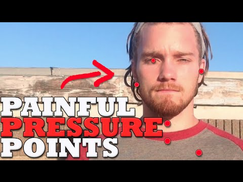 Painful Pressure Points for Fighting   Escape Chokes; Bigger Opponents