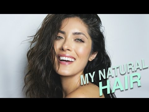 How I Air Dry and Style My Natural Hair   Coarse. Frizzy. Wavy. Textured Hair   Melissa Alatorre