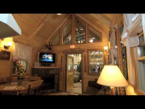 Rustic American Mini Cabins by Landmark Home and Land Company  Stylized Wood Homes
