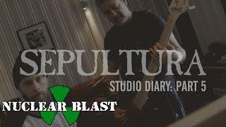 SEPULTURA - 2016 Studio Diary Bass (Trailer #5)