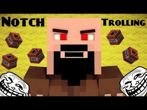 If Notch was a Troll Minecraft