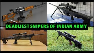 Top 5 Sniper Rifles Used By Indian Army - Indian Military Snipers (Hindi),Indian Defence News