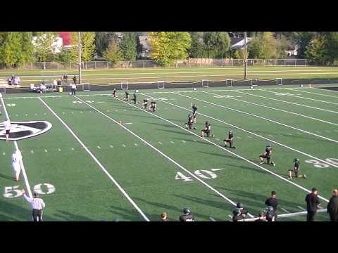 Gervais vs Salem Academy Middle School Football 2012 - 04/03/2013