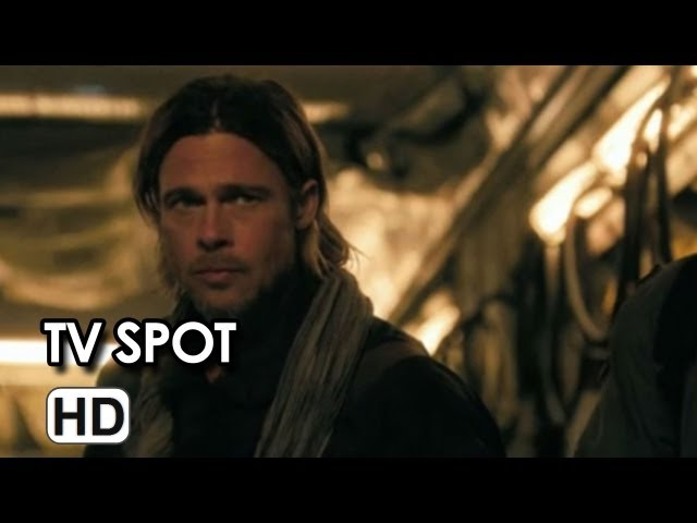 World War Z TV Spot Nails - Brad Pitt Movie HD