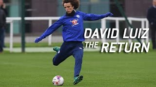DAVID LUIZ: The Return. An in-depth interview with a Chelsea star.