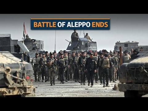 Battle of Aleppo draws to a close after years of bitter siege