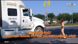 Tổng kiểm soát ôtô chở khách, ôtô vận tải container và môtô