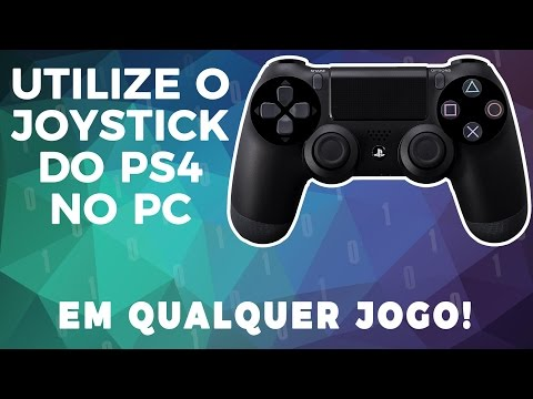 Utilizando o Joystick do PS4 no PC em Qualquer Jogo!