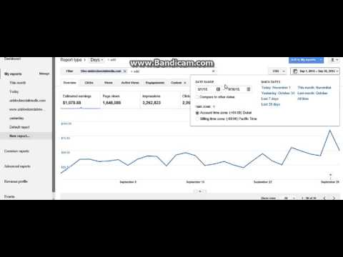 Adsense Proof of earnings