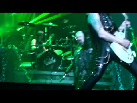 [HQ-480p] Judas Priest - The Green Manalishi (The Stadium, Moscow 18/04/2012)
