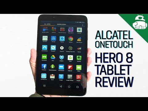 Alcatel Onetouch Hero 8 Review!
